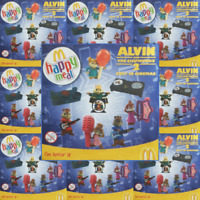 McDonalds Happy Meal Toy 2009 UK Alvin & The Chipmunks 2 Plastic Toys - Various