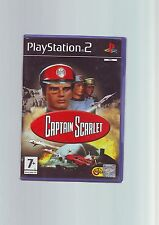 Captain Scarlet-Kids Kinder Sony PS2 Game-Schnelle Post-ORIGINAL & KOMPLETT