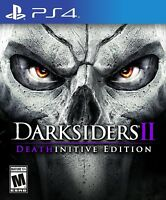 Darksiders II: Deathinitive Edition (Sony PlayStation 4, 2015) BRAND NEW