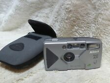 Nikon Nuvis A20 Compact APS film Camera and Pouch  tested and working