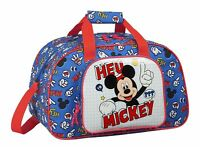 Disney MICKEY MOUSE Sports Holdall Bag Travel School Overnight PE Bag THINGS 40c