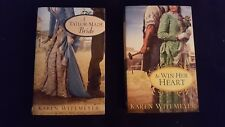 Karen Witemeyer, Lot of 2 TPB, A Tailor-Made Bride, to Win Her Heart