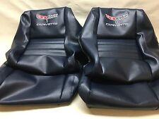 """1979-1982 Corvette Seats Cover(2"""" bolster)DK BLUE"""