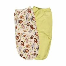 New Baby SwaddleMe Wrap Swaddle Blanket Small Jungle Buddies Two Pack