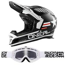 ONeal Fury RL Helm Afterburner Brille Action Cam Fullface Mountainbike Downhill