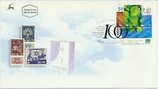 Israel Sc. 1454 Jewish National Fund JNF KKL Centenary on 2001 FDC