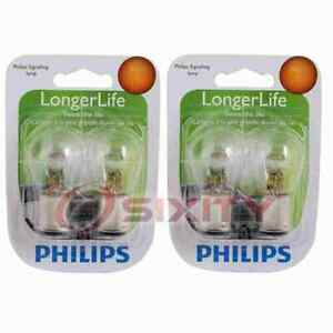 2 pc Philips Tail Light Bulbs for Sunbeam Arrow 1967-1970 Electrical fv
