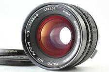 """Near Mint "" Olympus Om System Zuiko MC Auto W 35mm f/2 Lens From JAPAN #1313"