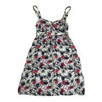 Saba Designer Womens Size 8 Abstract Floral Print A-line Dress
