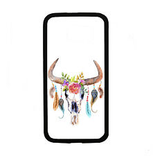 Skull With Feathers for Samsung Galaxy i9700 S6 Case Cover by Atomic Market