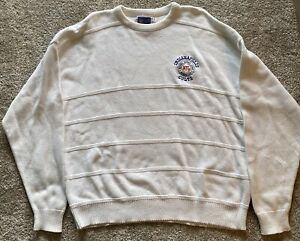 Rare Vintage Official NFL Nutmeg Indianapolis Colts Members Club Sweater XL