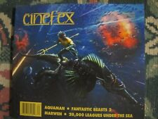 Cinefex # 162 Uncirculated Aquaman, Fantastic Beasts 2 & 20,000 leagues Under