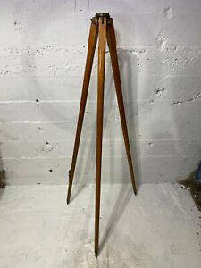 Vintage DietzgenMapleWood CompassTripod for Surveying Surveyor