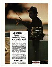 1974 MERCURY 40 4hp Outboard Boat Motor VTG PRINT AD
