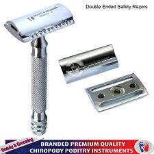 Double Edge Saftey Razor Men Razors Shaving Hair Remover Chrome Stainless Steel