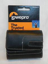 Lowepro Portofino 10 Genuine Black Leather Camera Case - BNWT