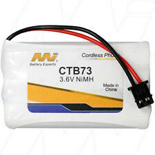 3.6V Replacement Battery Compatible with Jackson CB3680B