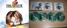 final fantasy vii jewel case & final fantasy viii big box    both with manuals
