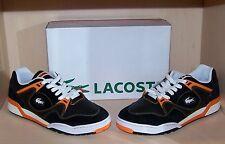 LACOSTE Vintage sneaker/tennis shoe Rare  NWB size 12 Black/Flare