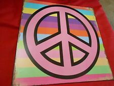 Great Collectible Tin Sign.1960's Peace Sign