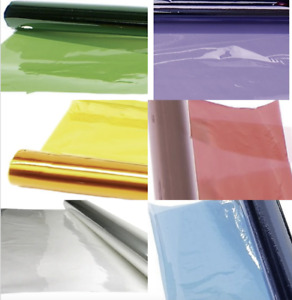 Clear Colour Cellophane Wrapping Gift Paper Cello Birthday Hamper Wrap film