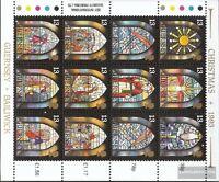 GB-Guernsey 622-633 Kleinbogen (kompl.Ausg.) postfrisch 1993 Weihnachten