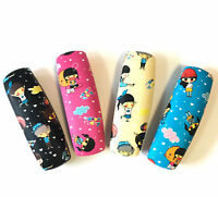 C33 Reading Glasses Hard Case/Happy Kids Cartoon Pattern/PVC Leatherette
