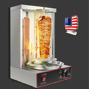 Electric Vertical Broiler Shawarma Tools Spinning Doner Kebab Gyro Grill Machine
