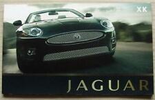 JAGUAR XK & XKR Car Sales Brochure 2008 #JLM/10/02/03/08.1  COUPE & CONVERTIBLE