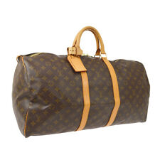 LOUIS VUITTON KEEPALL 55 TRAVEL HAND BAG PURSE MONOGRAM SP0994 M41424 AK43994