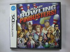 NEW AMF Bowling Pin Busters NintendoDS Video Game Case Game Not Included