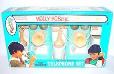 "Mehanotehnika HOLLY HOBBIE ""OLD FASHIONED"" TELEPHONE SET Batt. Op. MIB`74 RARE!"