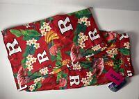 Rutgers Scarlet Knights Men's XL 40-42 Hawaiian Pineapple SOFT Pajama Pants NWT