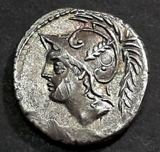DENIER MINUCIA (103 Avant J-C) Soldat romain combattant un guerrier ennemi