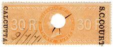 (I.B) India Revenue : Small Cause Court Calcutta 30R