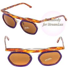 PRADA Designer LIMITED EDITION Sunglasses SPR 02P MAK-2Z1 Purple Havana Brown