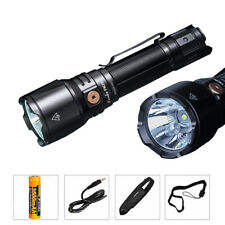 Fenix TK26R TAC LED Flashlight 1500LM USB Rechargeable 3500mAh 18650 W/R/G Light