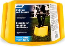 CAMCO 44424 Yellow Leveling Stabilizer Jack Support Stand 5000 Pound Capacity