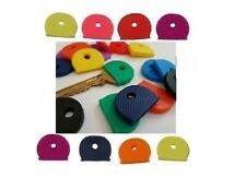 MIX COLOUR KEY CAP CAPS HEAD TOP COVERS TAGS ID MARKERS MARKER KEYRING IDENTIFY