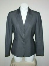 TAHARI Womens Petite Striped Blazer Size 6P