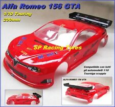 Carrozzeria Body 1/10 ALFA ROMEO 156 200mm for Touring per Xray Mugen NO PAINT