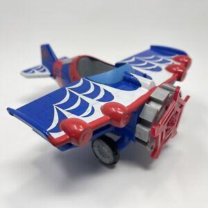 2011 Marvel Playskool Heroes Stunt Wing Spider Plane Spider-Man