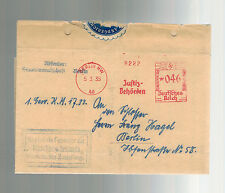 1935 Germany Berlin Tegel Prison Cover From Attorney General Surrender Order