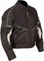 Buffalo Coolflow Black Textile Mesh Summer Motorcycle Jacket New £79.99!!