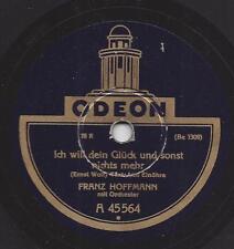 Franz Hoffmann : In Paris bei der Uhr der Madelaine + ich will dein Glück und
