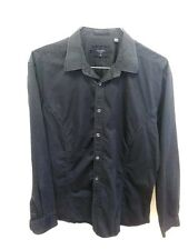 Ted Baker London Shirt Size 5 Navy Blue Button Down Long Sleeves Mens 40 L