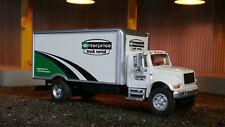 1/87 HO Scale Die Cast International Box Truck Custom Enterprise Truck Leasing
