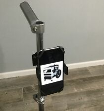 Disc Golf Cart Cell Phone Holder Mount Clamp On GREAT FOR VIDEO bag backpack