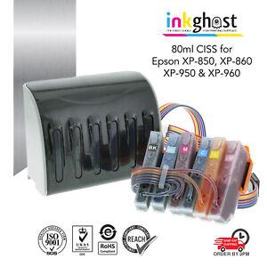 Inkghost 277 277XL CISS for Epson XP850 XP860 XP950 XP960 Ink System cartridges