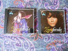 RENATO ZERO ZEROFAVOLA PRIMA E SECONDA PARTE RARO CD 1993 FUORI CATALOGO